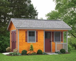 Deluxe Cottage Style Storage Shed