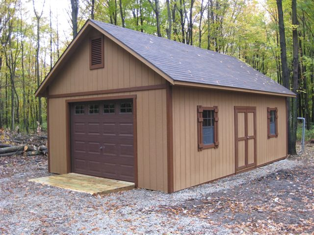 Custom Built Garages Of All Sizes Amish Built 2 Story