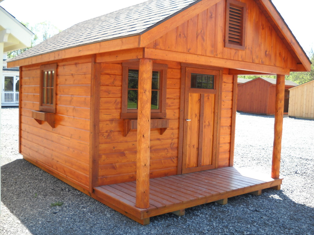 10 16 Horizion Cabin Shed With 4ft Porch Standard Cabins