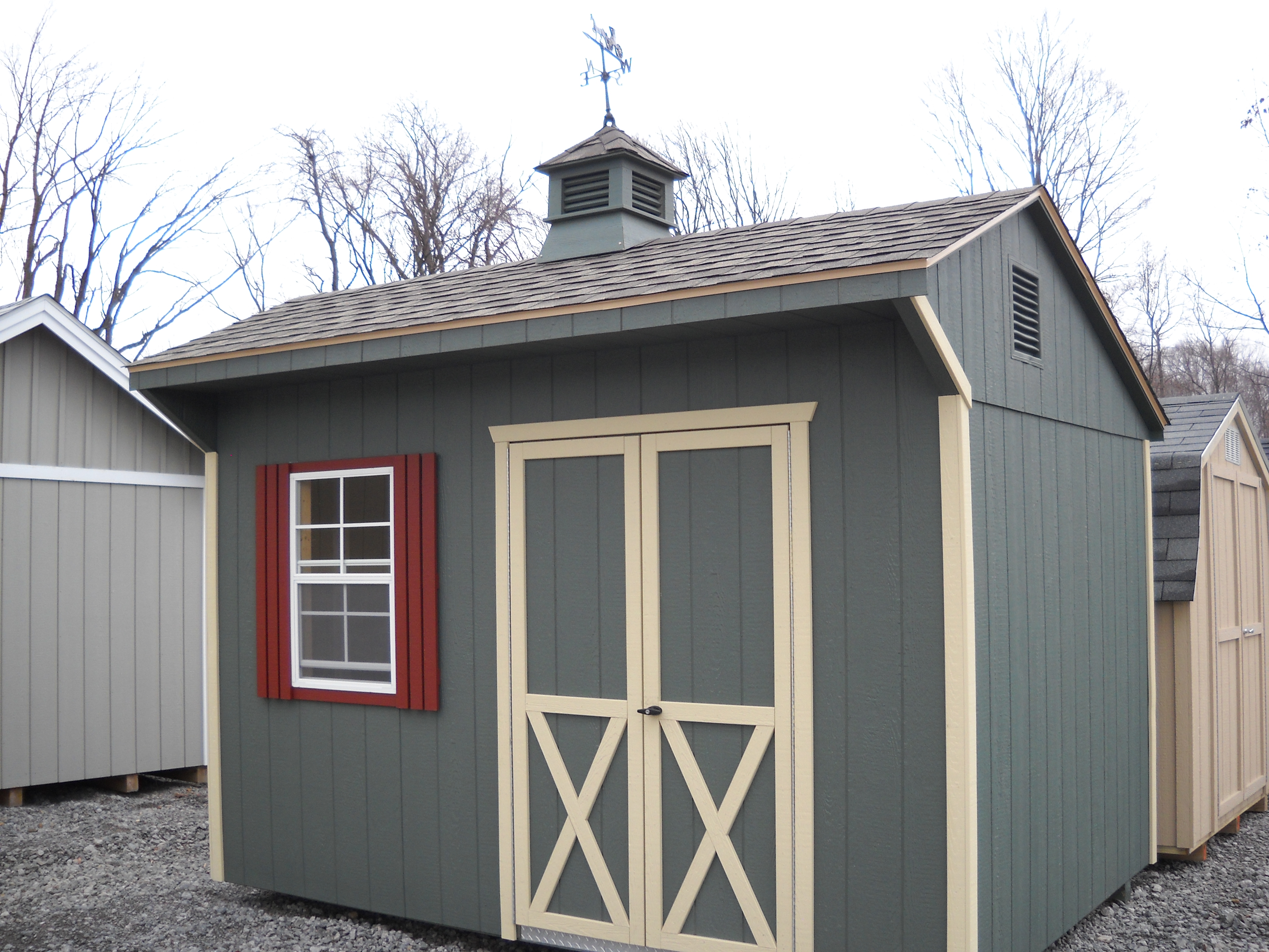 8x12 Cottage Shed With Lp 50 Year Siding Cottage Style