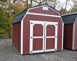 10'x12' Lofted Shed