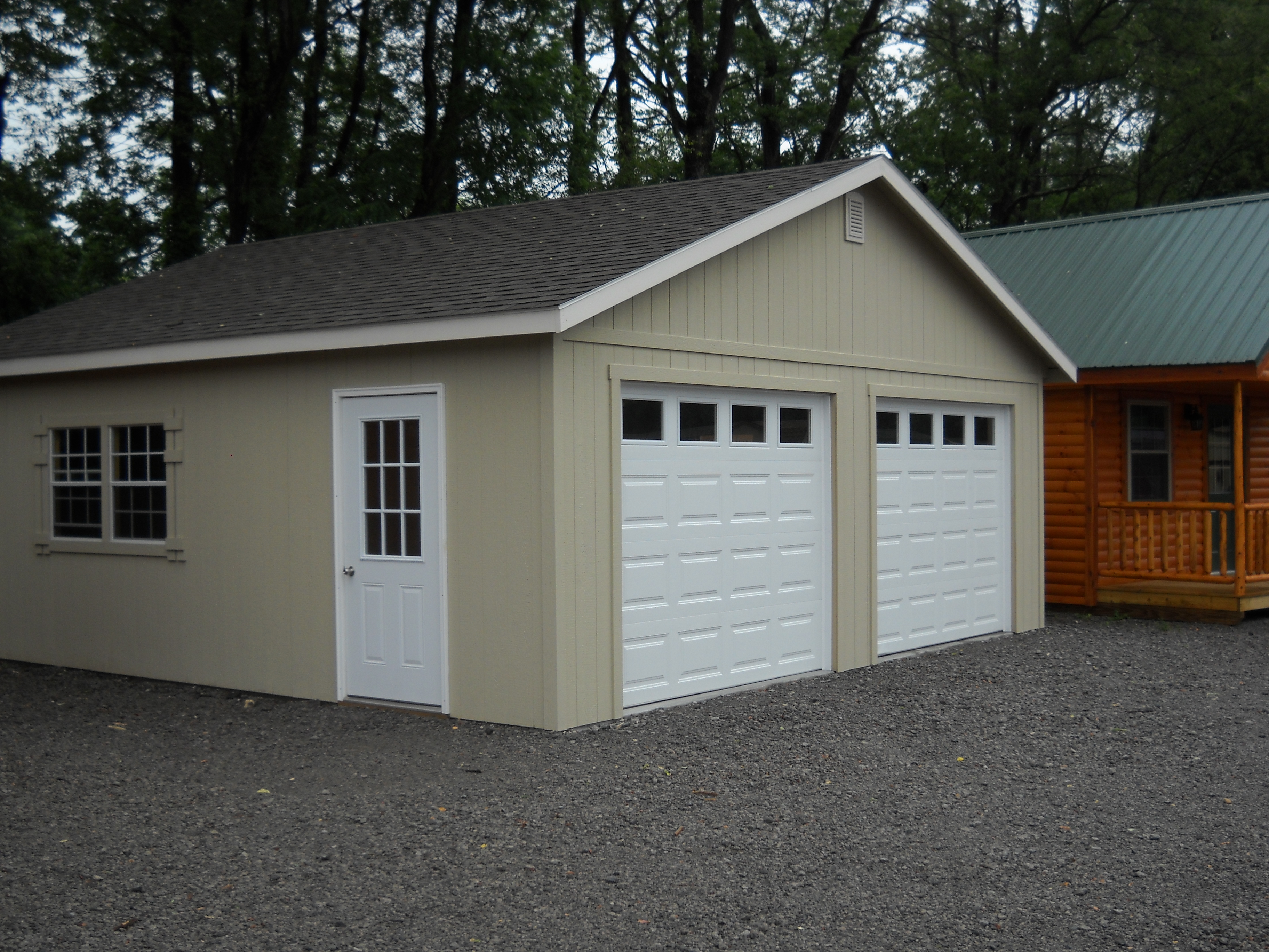 legacy photo builders pa with in beautiful garage detached gallery md de garages amish floor from nh space two ny the story va apartment on