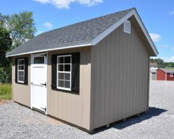 10'x16' Cape Cod Storage Building