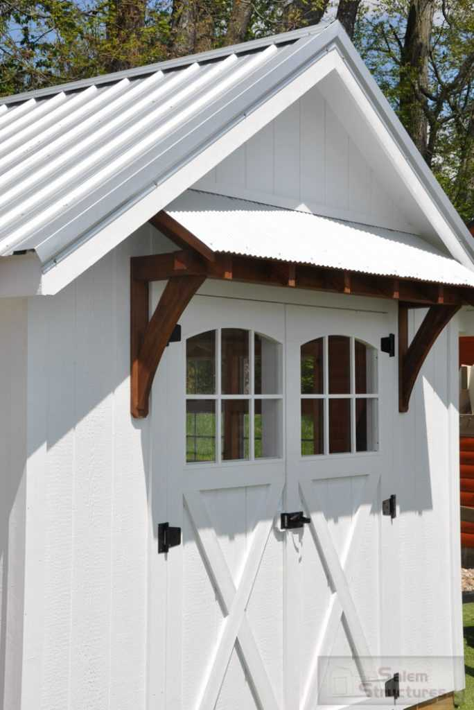 Garden Shed Porch
