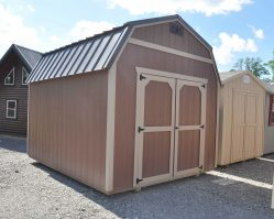 Used 10'x12' Lofted Shed